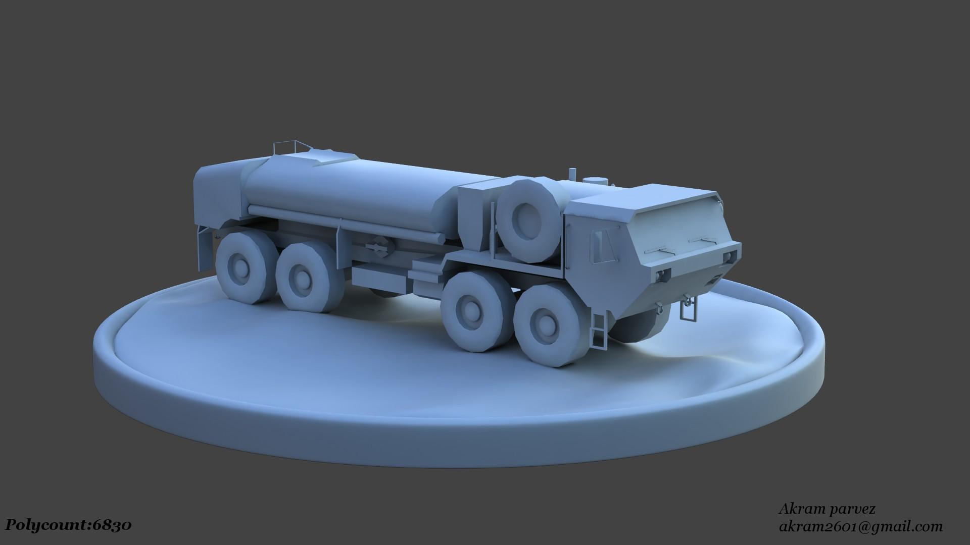 Truck_LowPoly01