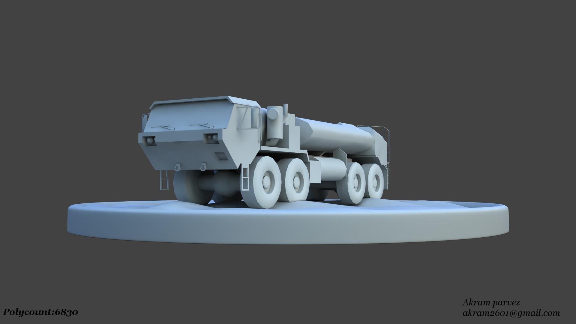 Truck_LowPoly02