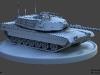 Tank_LowPoly_Wire